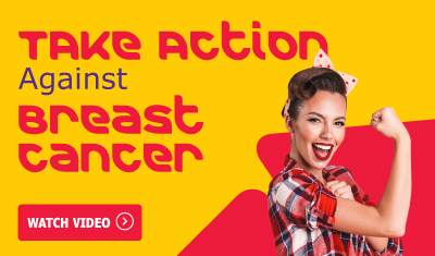 take action against breast cancer animation